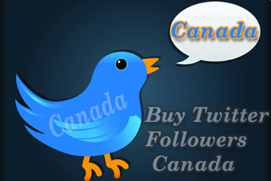 Buy Twitter Followers Canada